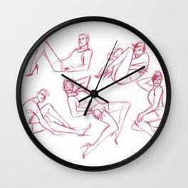 Heels 01 Wall Clock