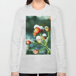 Winter Rose Long Sleeve T-shirt