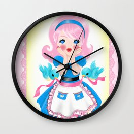 Cutie's Kitchen Surprise Wall Clock