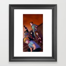 The Class Group Shot Framed Art Print