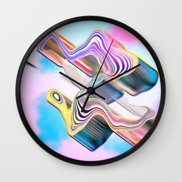 Candy in the sky Wall Clock