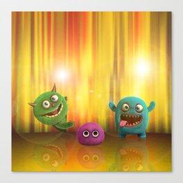 Monster Performance Canvas Print