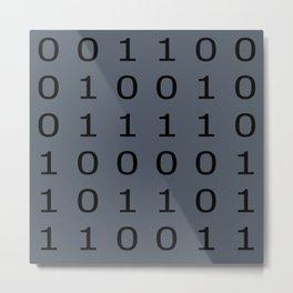 timetravel code Metal Print