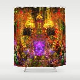 Roman Warrior Spirit Shower Curtain