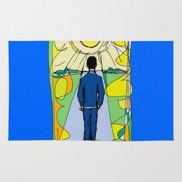 Aaron  Alter `Solar Rays'              by Kay Lipton Rug