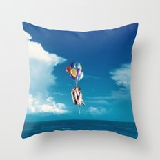 Infinite Sadness Throw Pillow