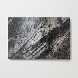 Waterfall at Glen Onoko State Park Metal Print