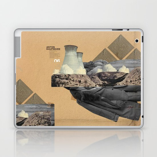 The future a time to reminisce. (mixed media) Laptop & iPad Skin