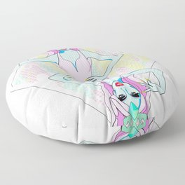 Queen of Diamonds Floor Pillow
