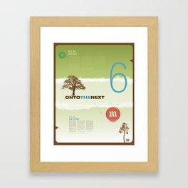 Onto The Next - TMD Framed Art Print