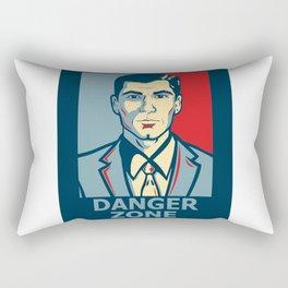 Archer DangerZone Rectangular Pillow