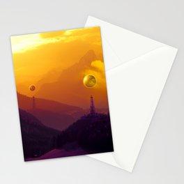 Cosmic Sunset Stationery Cards