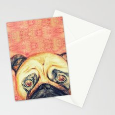 Grunt The Pug Stationery Cards