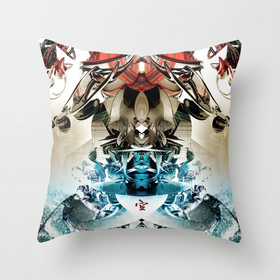 Vacío Throw Pillow