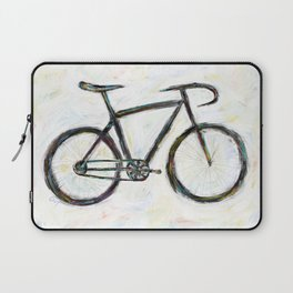 Funky Bike Abstract Bicycle Laptop Sleeve