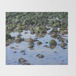 Low Tide Throw Blanket