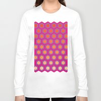 honeycomb Long Sleeve T-shirts featuring Honeycomb by Andrew Jonathan Baker