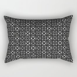 Arrows Pattern Dark Rectangular Pillow