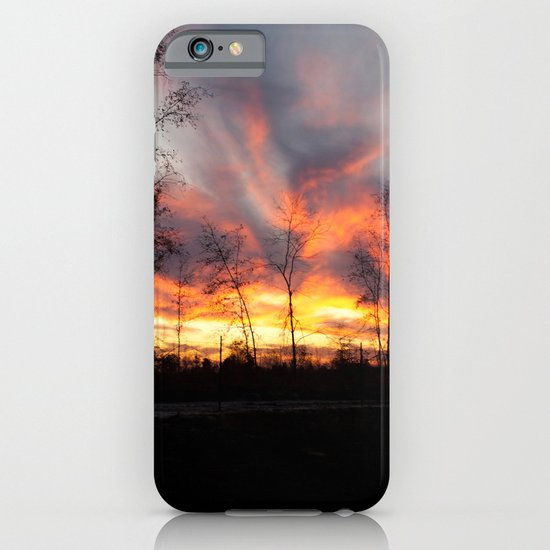 South Georgia Sky on Fire 4 iPhone & iPod Case