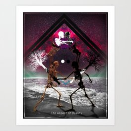The Aspect of Duality Art Print