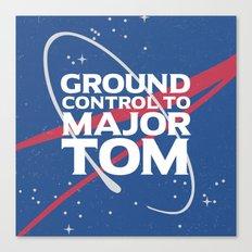 Ground Control to Major Tom Canvas Print