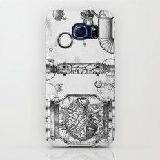Mother Brain Super Metroid Engraving Scene Slim Case Galaxy S7