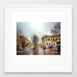 Les Jours Tristes Framed Art Print
