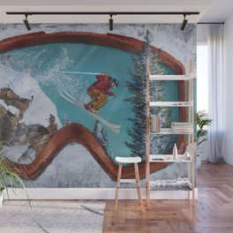 Seeing Powder Wall Mural
