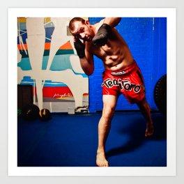 Fight : Punch Art Print