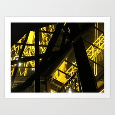 Inside The Tower I Art Print