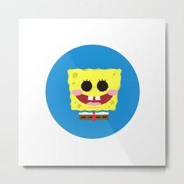 Spongebob Squarepants Metal Print