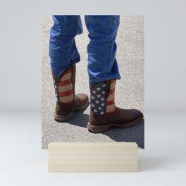 USA Boots Mini Art Print