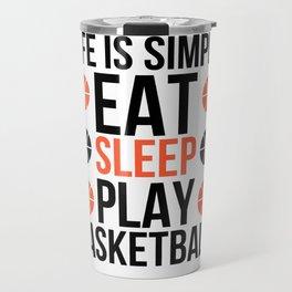 Basketball Kids Travel Mug
