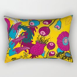 Buds n Flowers 2 Rectangular Pillow