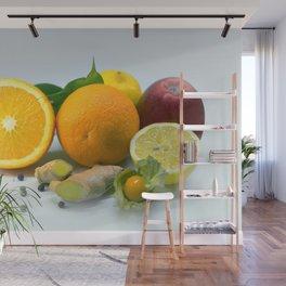 Vitamins Wall Mural