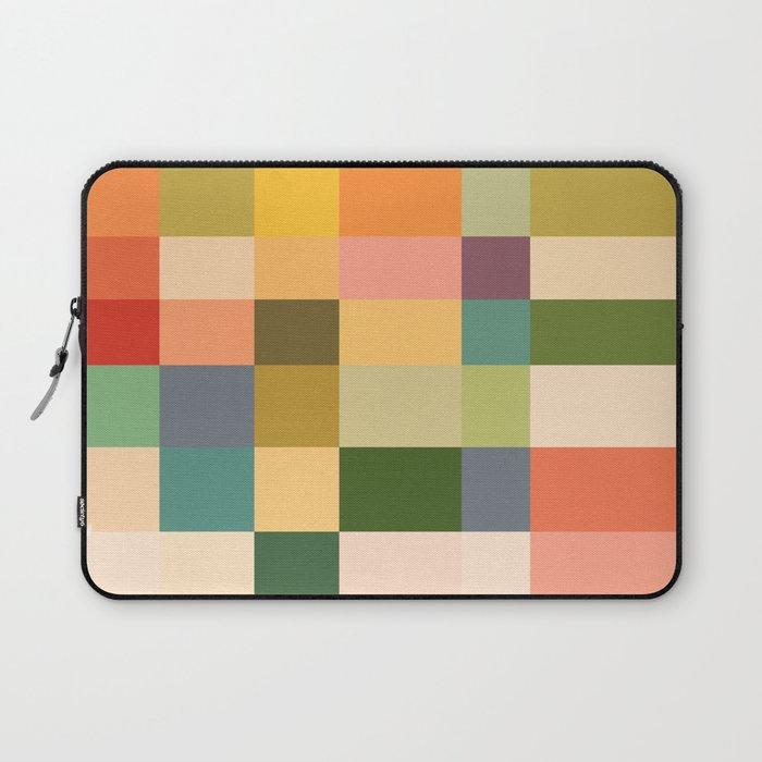 Vintage Checkered Pattern Laptop Sleeve