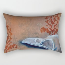 Oil Paint Study - Magpie Pattern Rectangular Pillow