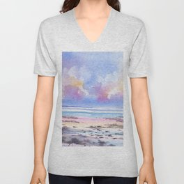 Afternoon Reflections Unisex V-Neck