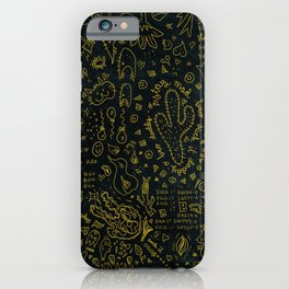 stay mad bro / suck it daddy-o iPhone Case