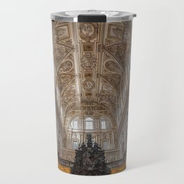 Choir in the Mosque–Cathedral of Córdoba Travel Mug