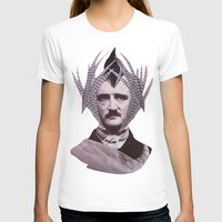 edgar allan poe T-shirts featuring EDGAR ALLAN POE by MELANCHOLIE (mit MONSTERN)