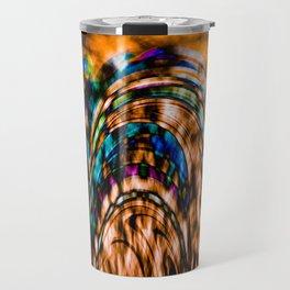 """""""Stained Landscape"""" Travel Mug"""