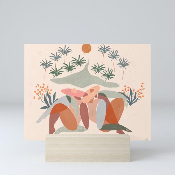Summer daze Mini Art Print