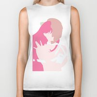 lucy Biker Tanks featuring Lucy by Polvo