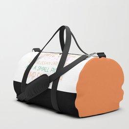 Trump Sandwhich Duffle Bag