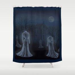 Victorian Haunt Shower Curtain
