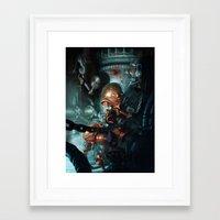 robot Framed Art Prints featuring Robot by Nicolas Villeminot