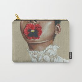 Love-in-idleness Carry-All Pouch