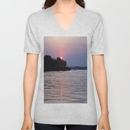 Liquid Flame Unisex V-Neck
