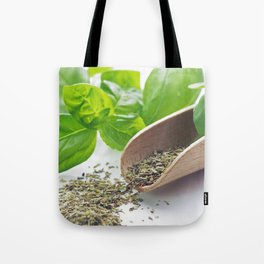 Basil herbs for kitchen Tote Bag